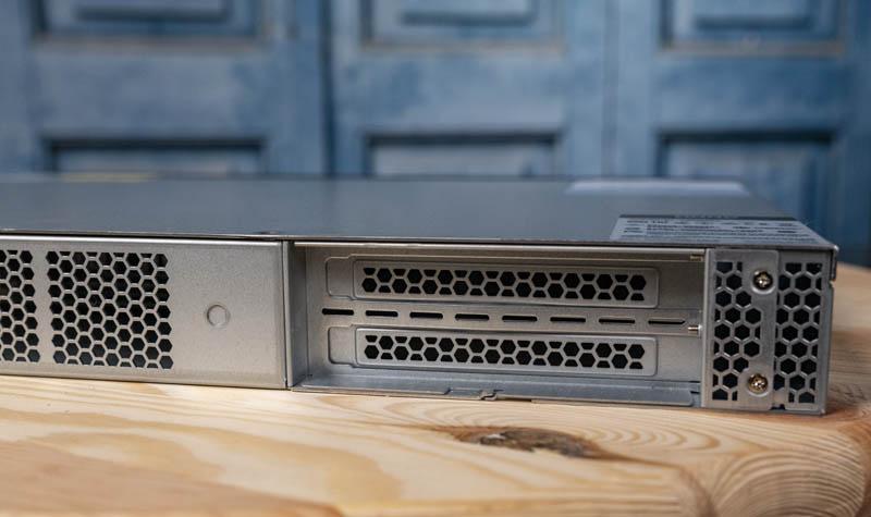 QNAP QGD 1600P Rear PCIe Expansion Slots
