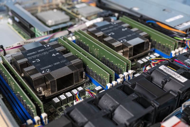Supermicro SYS 1029P WTR Internal Cover CPUs And Memory
