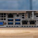 Supermicro SYS 1029P WTR Rear Motherboard IO Block