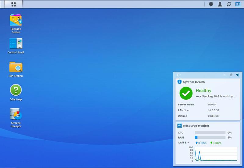 Synology DS920+ Desktop