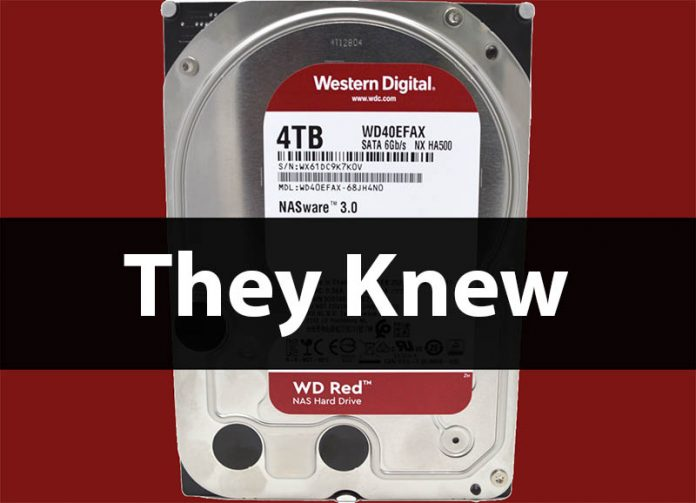 WD Red DM SMR Update 3 Cover They Knew