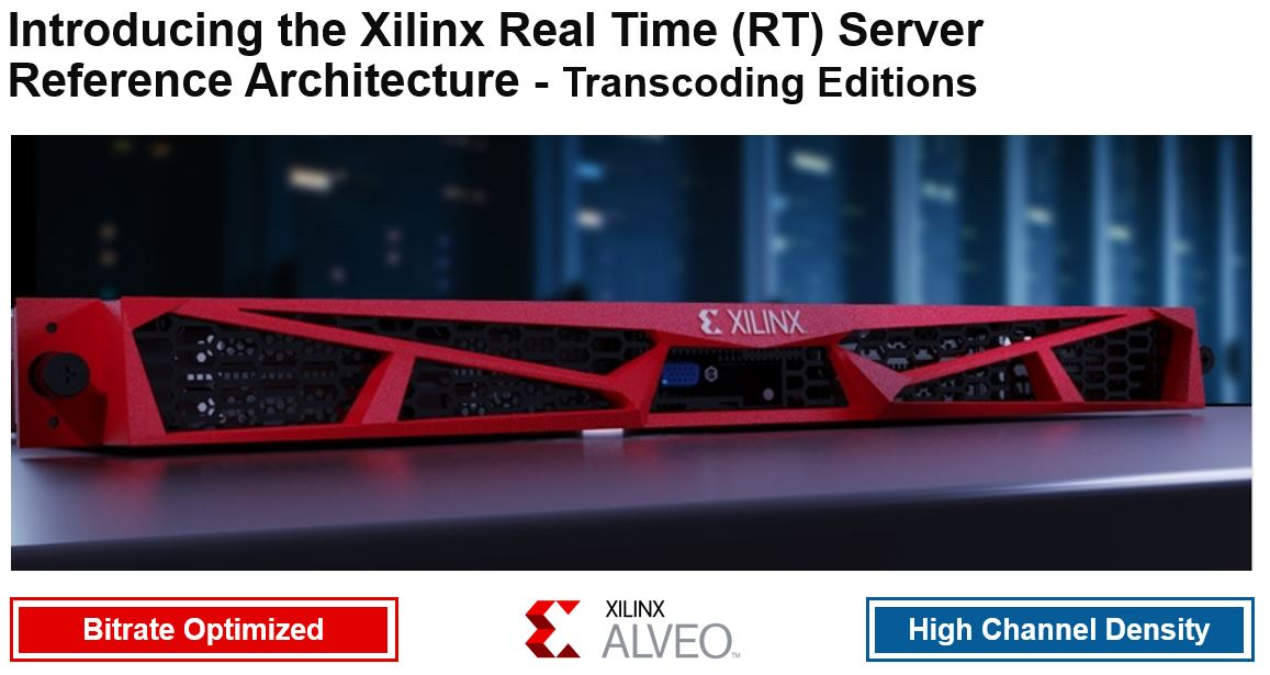 Xilinx RT Server Reference Architecture