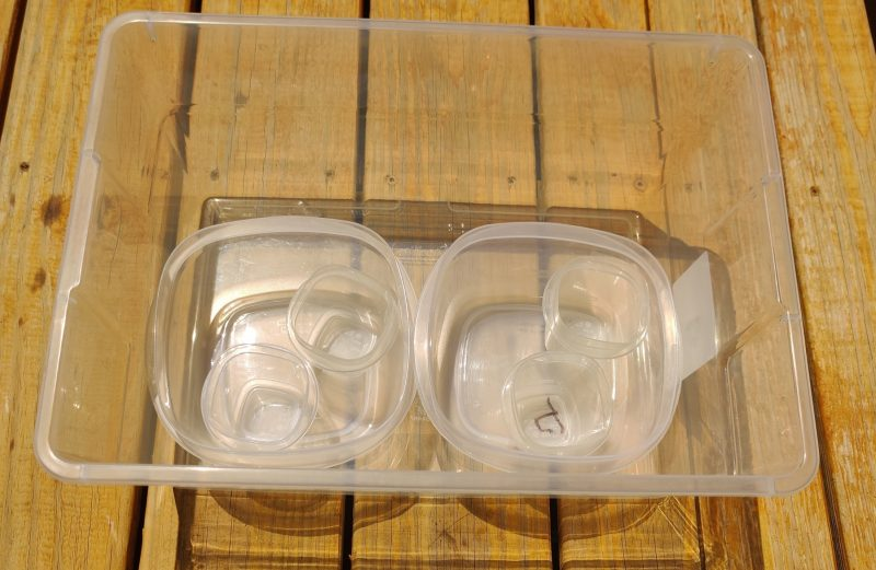 Nested Storage Containers