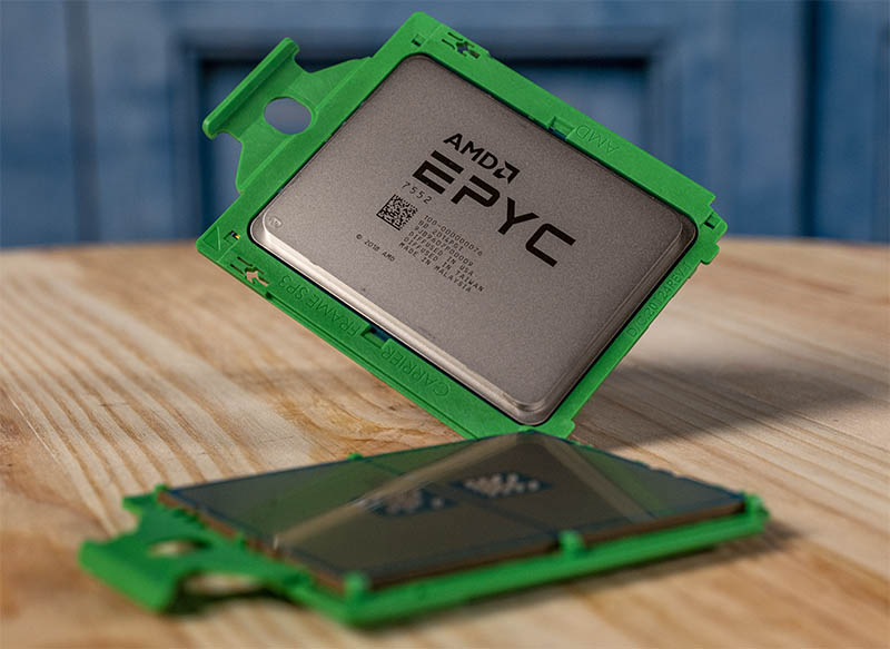 AMD EPYC 7552 Cover