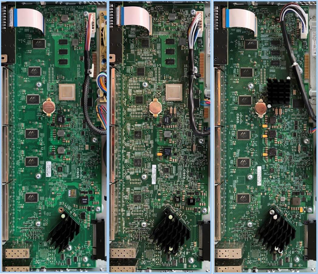 Fake Cisco Switch Side By Side Internal