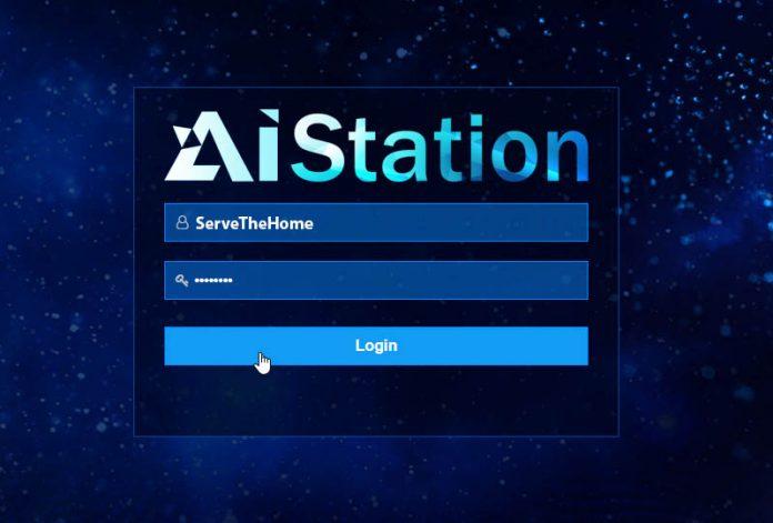 Inspur AIStation Login Cover