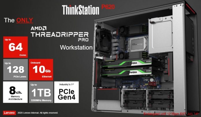 Lenovo ThinkStation P620 Overview