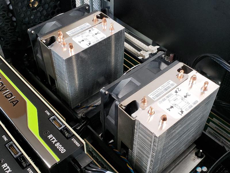 Lenovo ThinkStation P920 CPU Heat Sinks