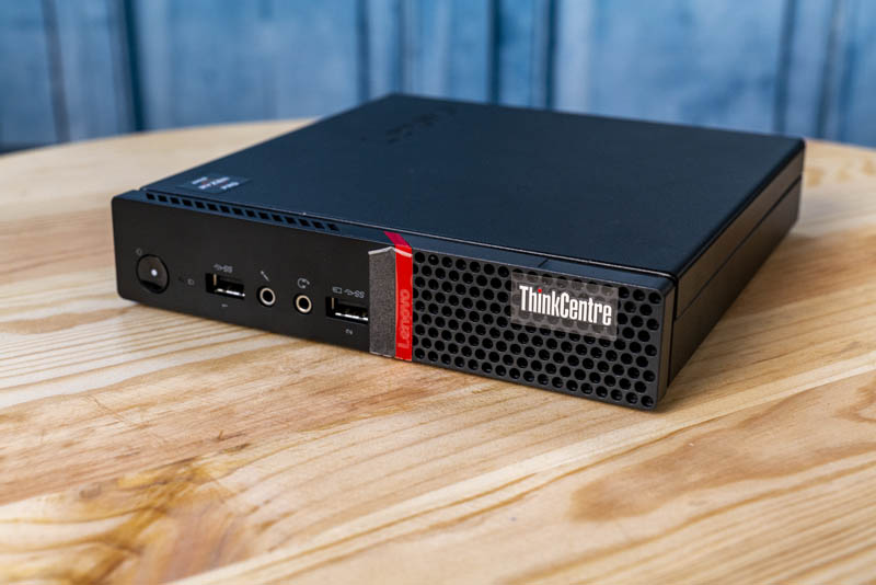 Project TinyMiniMicro Lenovo ThinkCentre M715q Tiny Front
