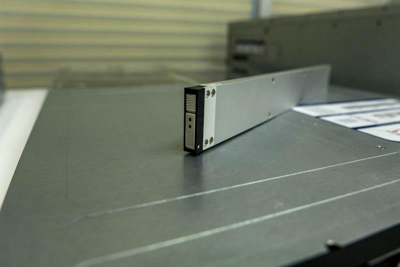 Supermicro SSG 1029P NEL32R 15TB Intel EDSFF SSD Latch Closed