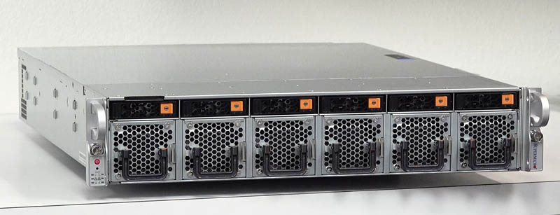 Supermicro SYS 1029U TN12RV Front Three Quarter