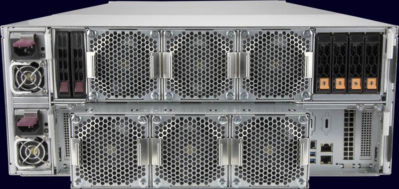 Supermicro SuperStorage SSG 6049SP DE1CR60 Rear Single Controller With Storage