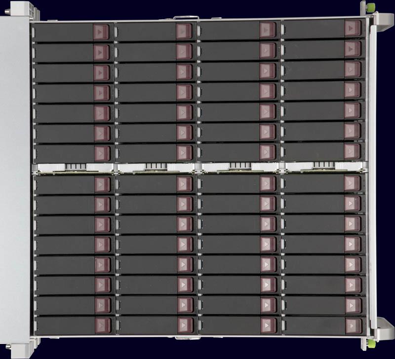 Supermicro SuperStorage SSG 6049SP DE1CR60 Top Drive Area