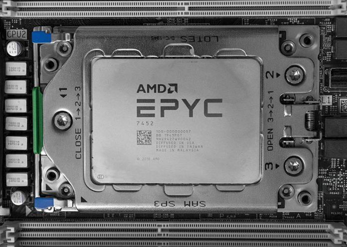 AMD EPYC 7452 Cover