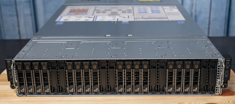 Dell EMC PowerEdge C6525 Front 24 Bay