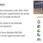 HC32 Google TPUv3 Key Takeaways