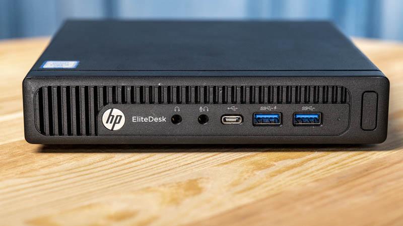HP EliteDesk 800 G2 Mini Front