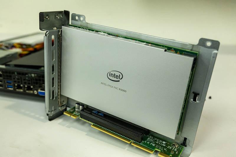 Intel FPGA PAC N3000 In Riser