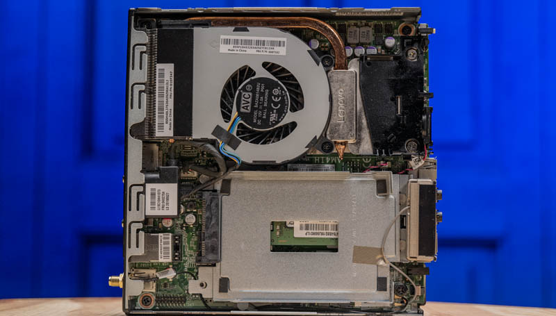 Lenovo ThinkCentre M715q Internal Overview