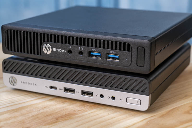 Project TinyMiniMicro HP EliteDesk Prodesk Front