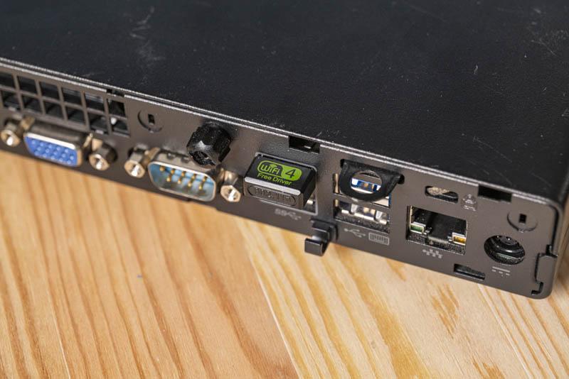 HP 705G3 Rear I/O