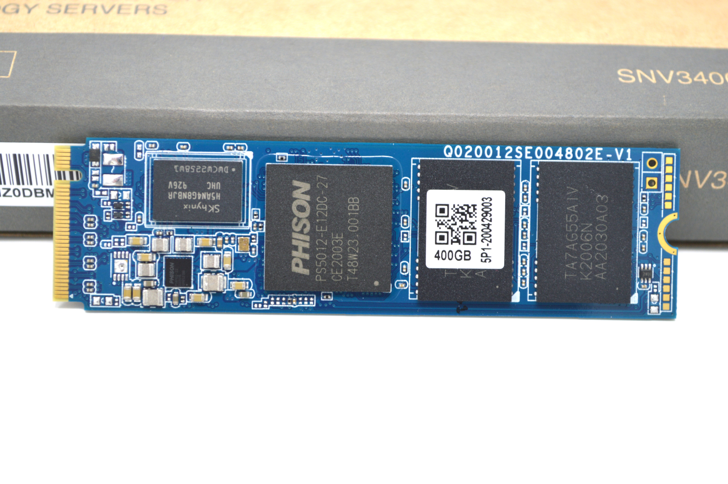 SNV3400 400G Front