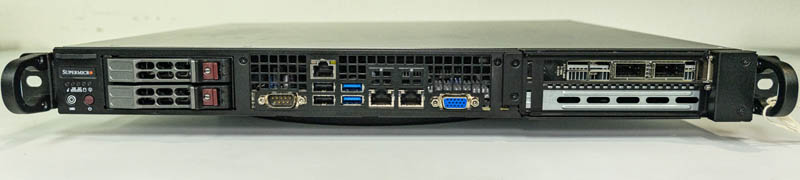 Supermicro SYS 1019P FHN2T Front IO