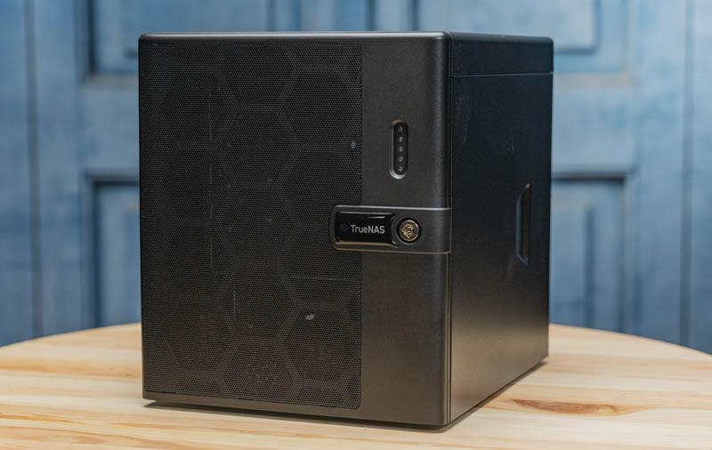 IXsystems TrueNAS Mini X Plus Front Three Quarter