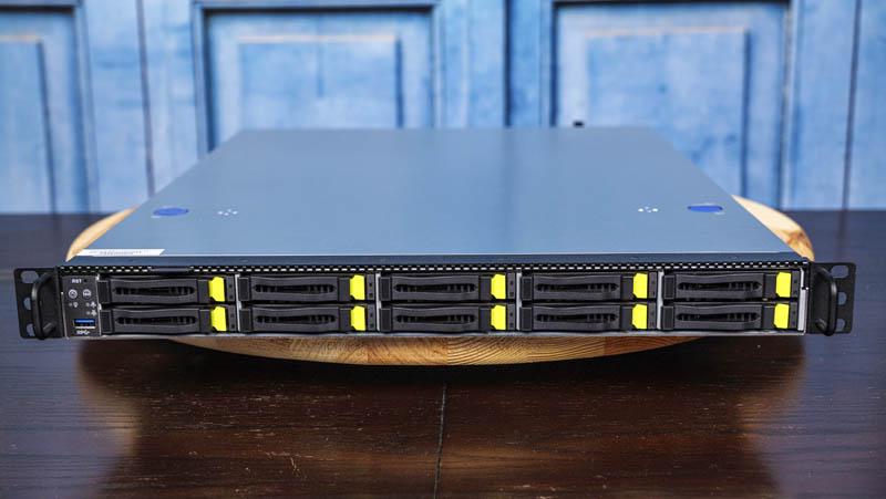 ASRock Rack 1U10E ROME2T Front