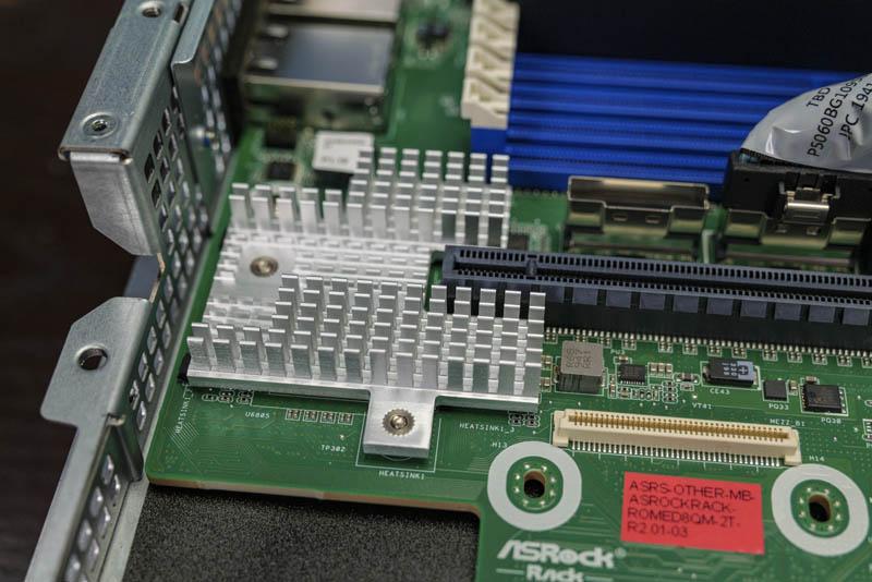 ASRock Rack 1U10E ROME2T Intel X550 Dual 10Gbase T 10GbE LAN