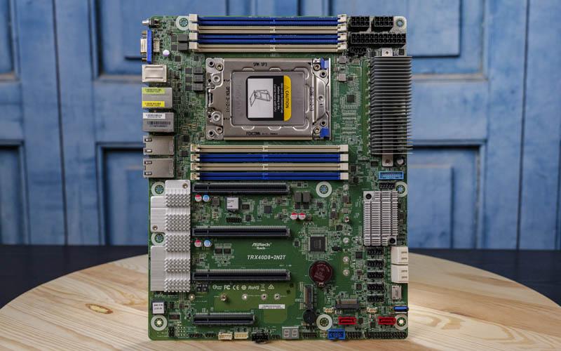 ASRock Rack TRX40D8 2N2T Airflow View