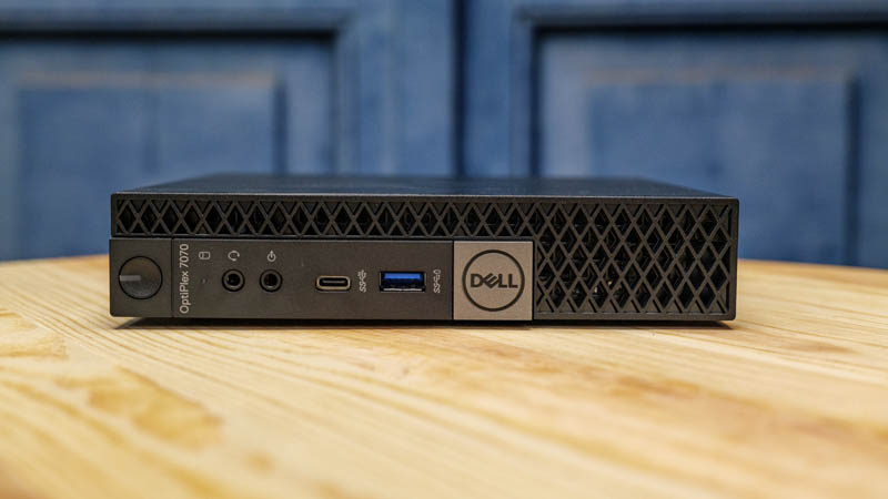 Dell OptiPlex 7070 Micro Front