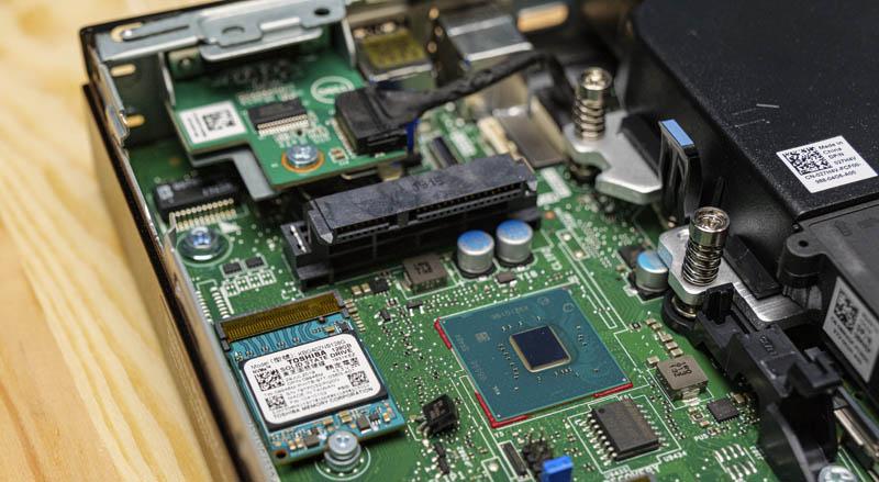 Dell OptiPlex 7070 Micro SATA Data And Power Connector