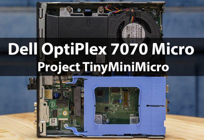 Dell OptiPlex 7070 Micro TMM Cover