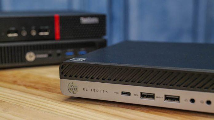 HP EliteDesk 705 G4 Mini Cover
