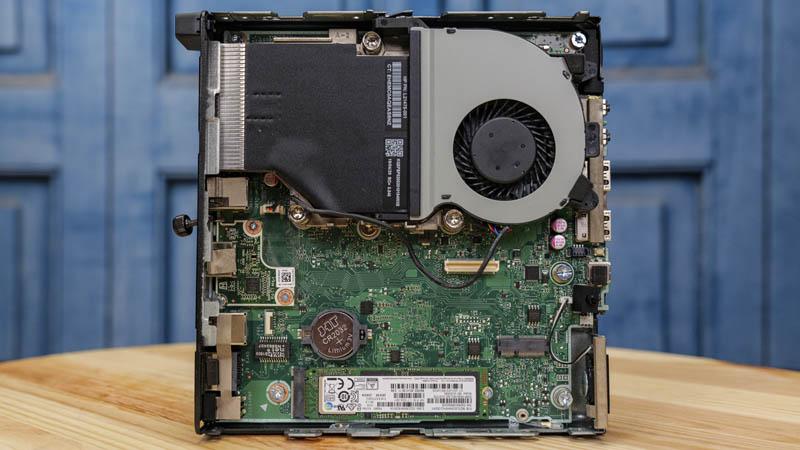 HP EliteDesk 705 G4 Mini Internal Overview