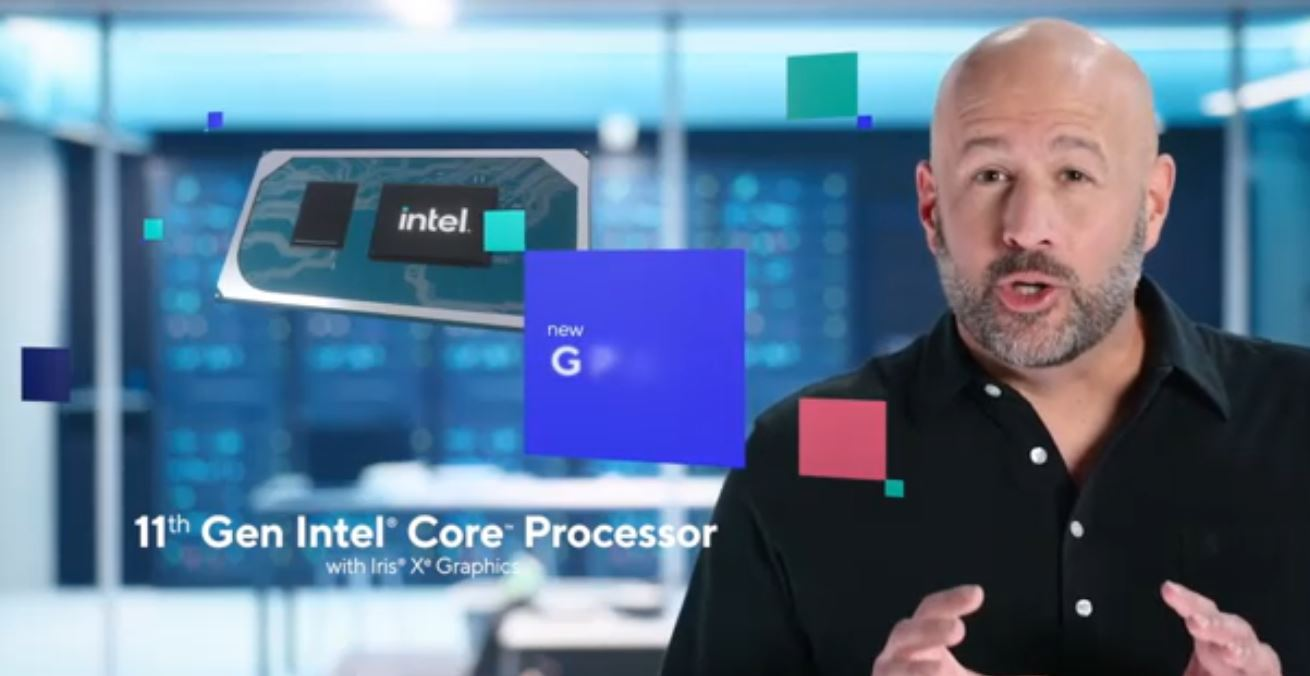 Intel 11th Gen Core With Iris Xe Graphics GB Action Shot