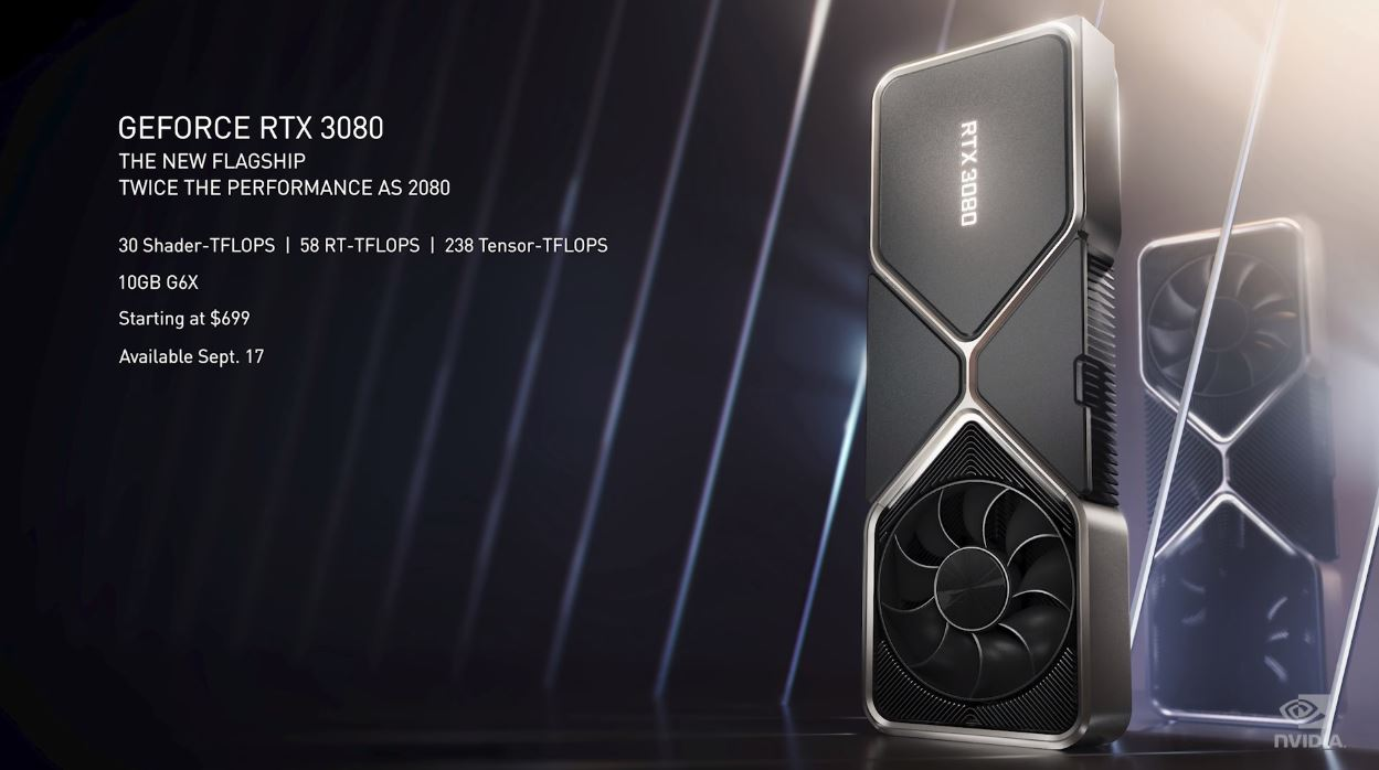 NVIDIA GeForce RTX 3080 Key Features