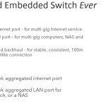 Netgear Orbi Pro WiFi 6 Embedded Switch