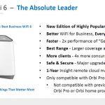 Netgear Orbi Pro WiFi 6 Summary
