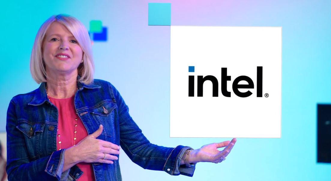New 2020 Intel Logo