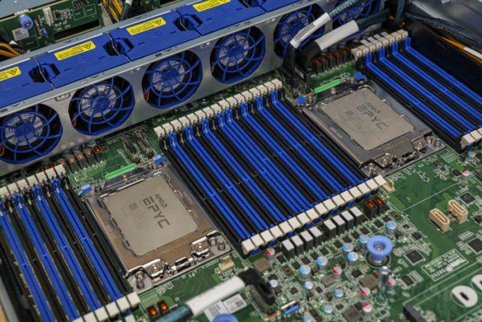 Tyan Transport HX TS75 B8252 AMD EPYC CPU Sockets And DIMMs