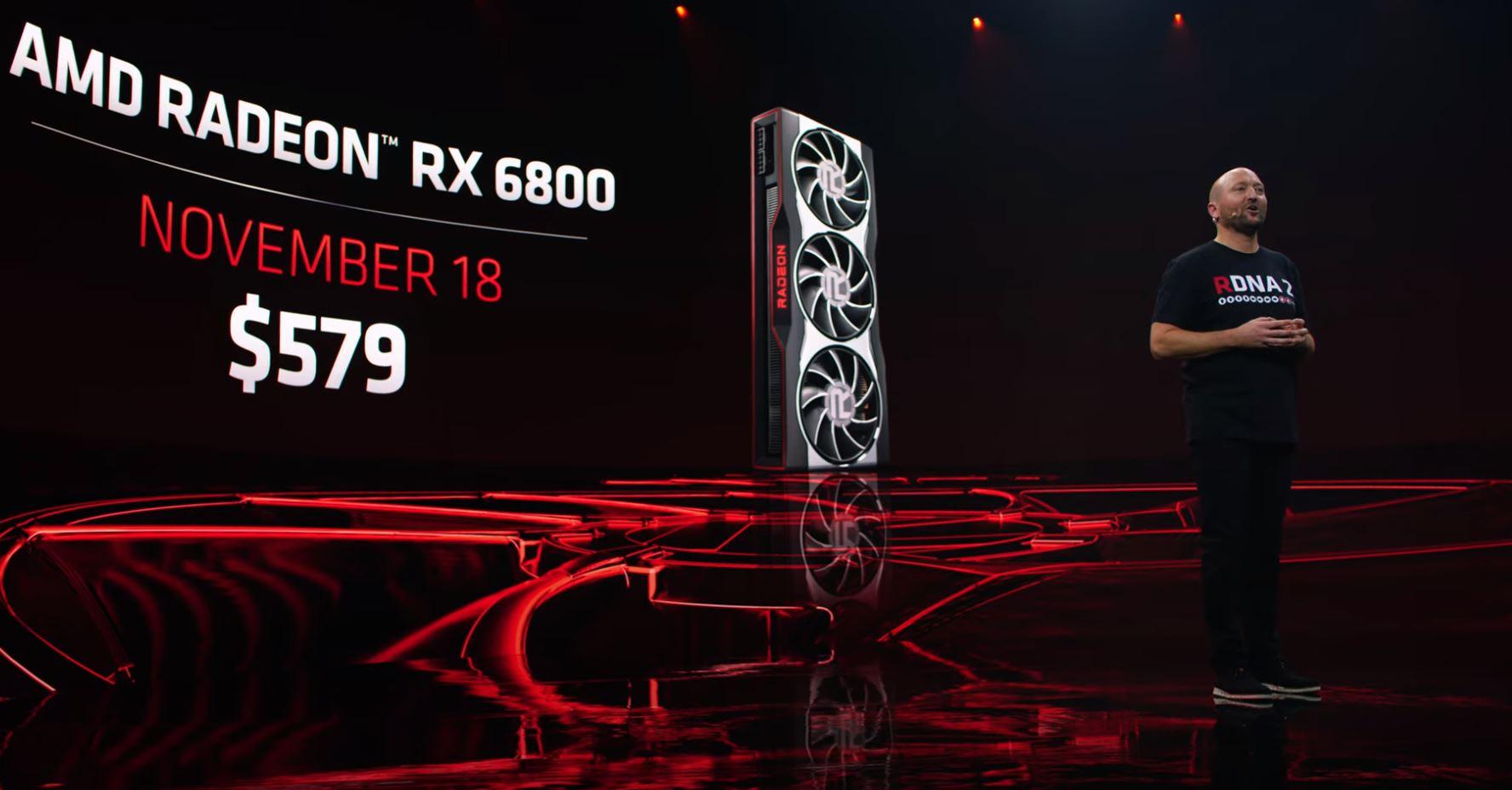 AMD Radeon RX 6800 Pricing