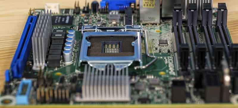 ASRock Rack E3C246D4I 2T CPU Memory Airflow