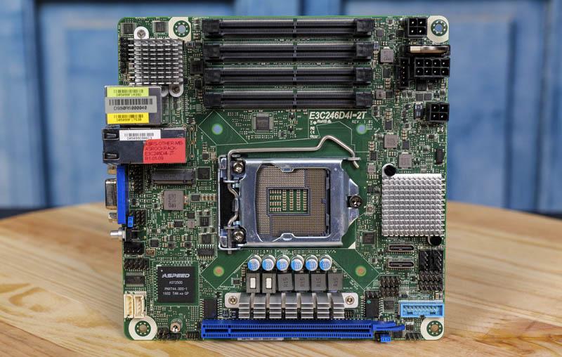ASRock Rack E3C246D4I 2T Overview