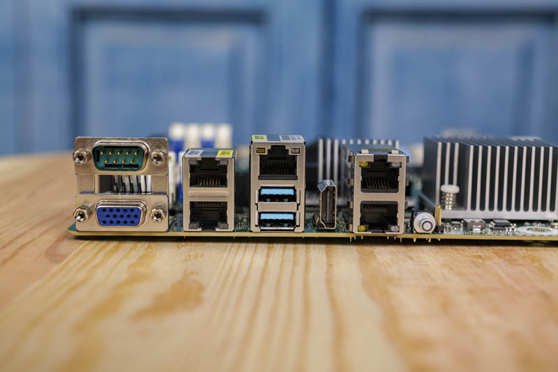 ASRock Rack X570D4U 2L2T Rear IO