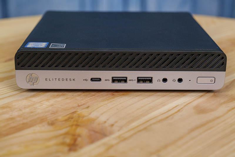 HP EliteDesk 800 G4 Mini Front