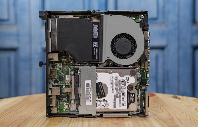 HP ProDesk 400 G4 Mini Internal Overview With HDD