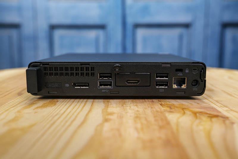 HP ProDesk 400 G4 Mini Rear