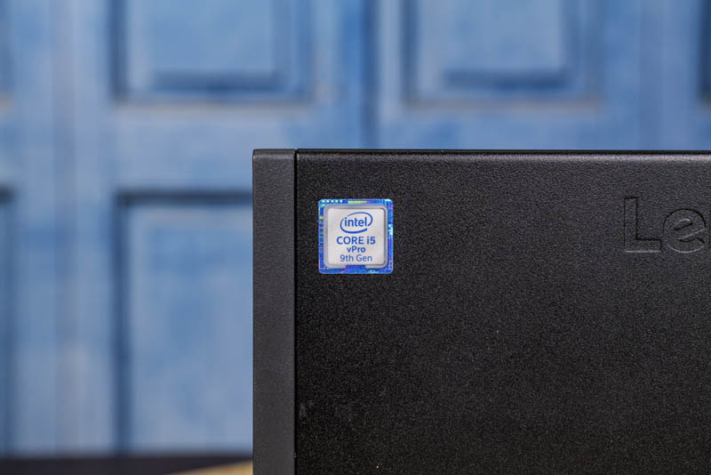 Lenovo ThinkCentre M920q Tiny Core I5 VPro 9th Gen Sticker